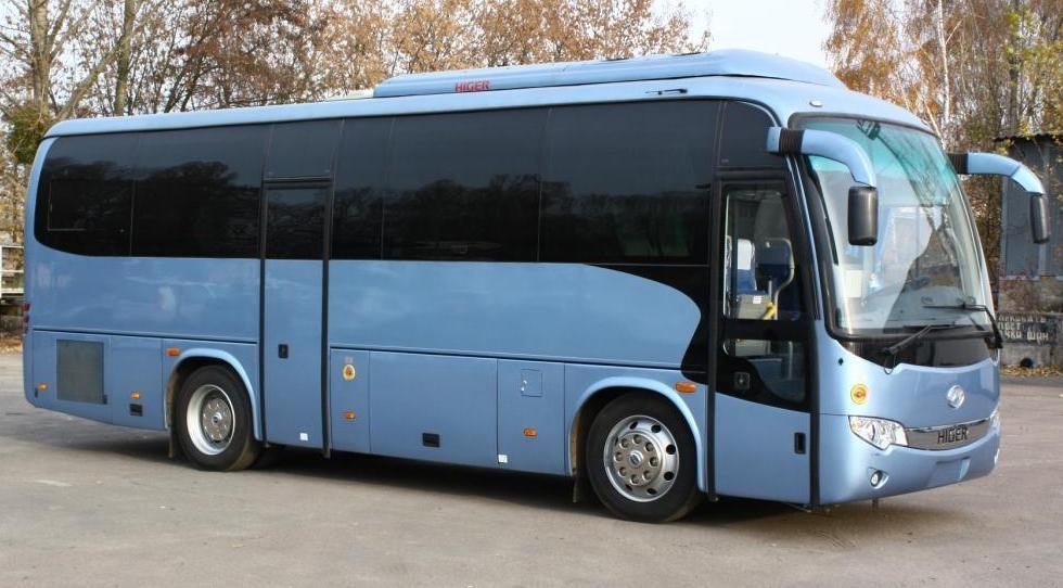 Заказ автобуса Higer