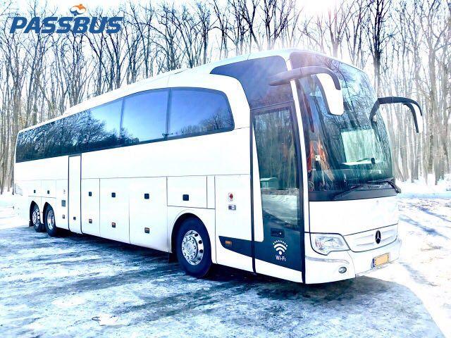 Заказ автобуса Mercedes-Benz Travego
