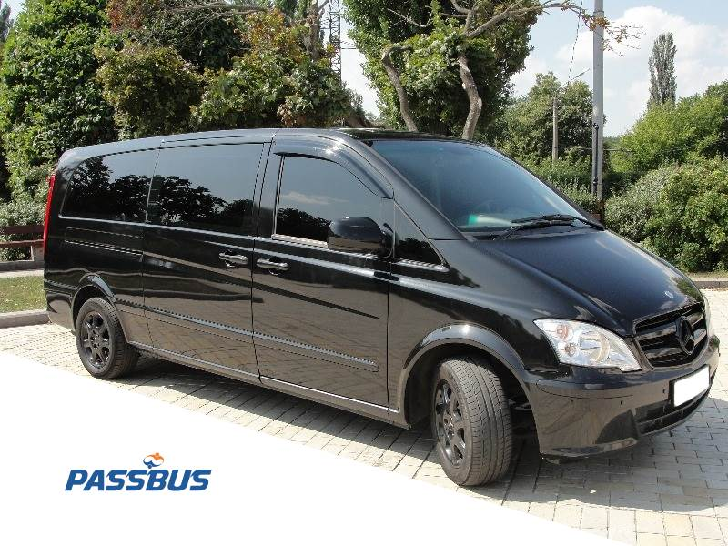 Заказ микроавтобуса Mercedes-Benz Viano