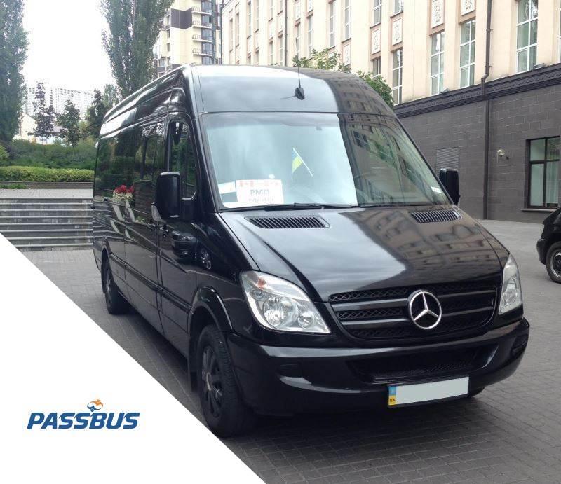 Аренда микроавтобуса Mercedes-Benz Sprinter