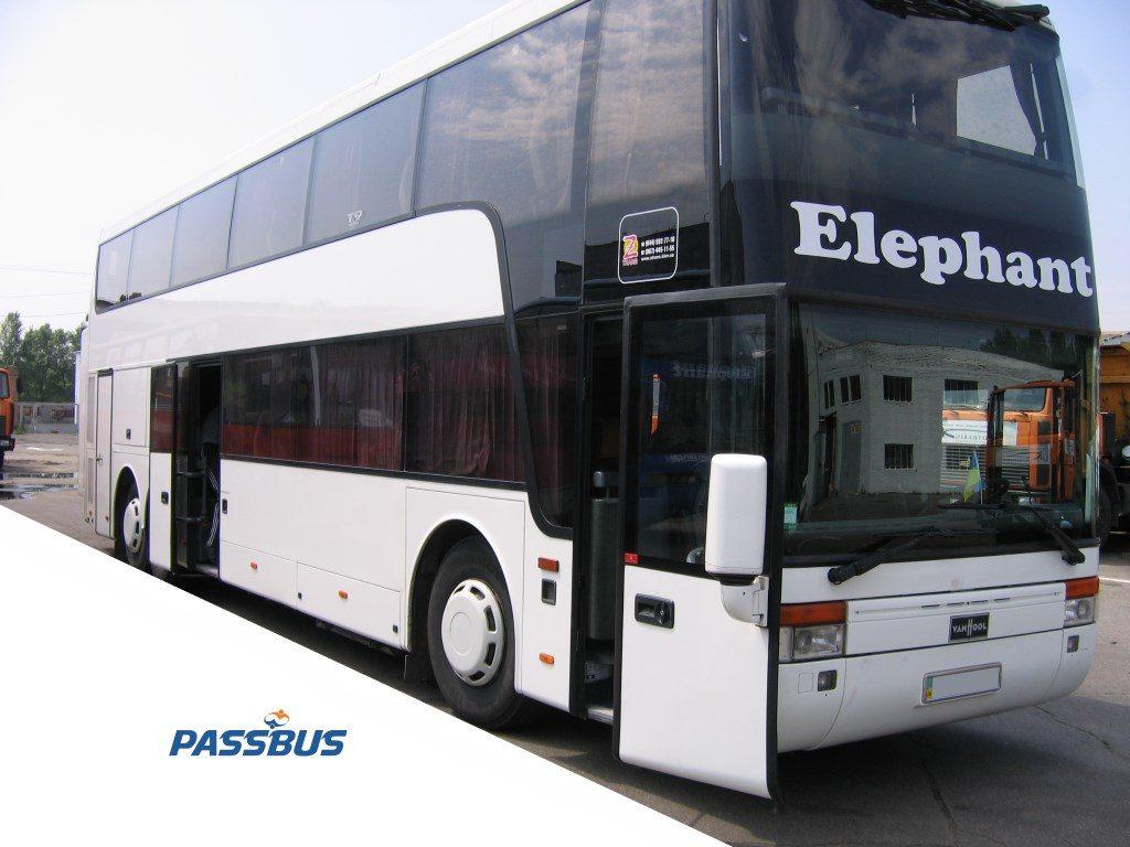 Заказ автобуса Van Hool