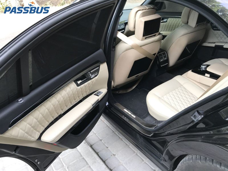 Аренда авто Mercedes-Benz S63 AMG в Киеве