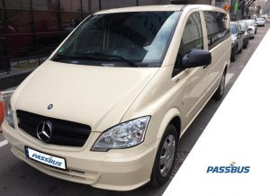 Заказ минивэна Mercedes-Benz Vito с водителем в Киеве